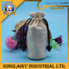 Reusable Jute Drawstring Shopping Bag for Promotional Gift (B-06)