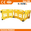 Bright Yellow Plastic Crowd Road Traffic Safety Barricade for Outdoor Events
