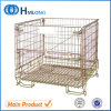 Stackable Foldable Storage Welded Wire Container