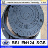 Low Price Hinged Cast Iron Manhole Cover with En124 Standard