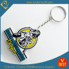 High Quality Customized Logo 2 D Promotional PVC Key Chain for Publicity From China