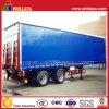 PVC Ply Curtain Side Trailer for Bulk Cargo Transportation