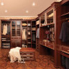 Oppein Luxury California Red Bedroom Wooden Closet (YG21115)