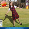 School Unirorm Girls Dress with Skirt--Dl012
