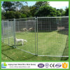 Large Single Dog Kennel with Solid Bar Run