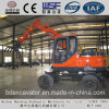 Hot Sale Small Wheel Excavator with Grasper Log Loader