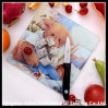 Houseware Tempered Glass Chopping Board with Bear Pattern