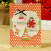 Factory Price Printed Nice Design Christmas Greeting Card
