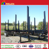 Two Axles Strong Posts Transport Wood Log Trailer
