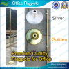 Economy Golden Silver 235cm Aluminum Indoor Office Flagpole (A-NF23M03014)