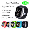 Hot Selling Bluetooth 4.0 Smart Watch Phone with SIM/TF Card and Camera (GM18S)