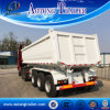 U Type Durable 24cbm 50 Tons Dump Semi Trailer for Sale