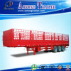 Carbon Steel 3 Axles 33 Ton Fence Truck Semi Trailer