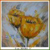 Nice Handmade Big Flower Oil Paintings on Canvas (LH-700588)