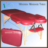 Massage Table, Portable Massage Table, 2 Section Woodn Table