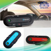 V4.1 Multipoint Bluetooth Handsfree Car Kit Visor Clip Speakerphone with English French Spanish Italian 4 Languages