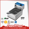 Stainless Steel Electric Commercial Fryer (HEF-88)