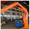 1t@ 2-7.5m Hydraulic Telescopic Knuckle Boom Deck Crane