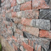 China Juparana Red Granite Rustic Cladding Wall Tiles Floor Tiles