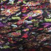 New Design of Opal Burn out Fabric. Burn out Satin Fabric