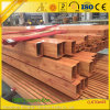 Wooden Grain Aluminium Tube Frame for Windows and Doors