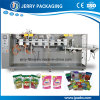 Stand-up or Flat Preformed Pouch with Zipper Filling Packing Machine