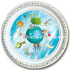 Plastic Artistic Ceiling Panel for Hotel Decoration (BRRD80-T-007)