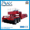 Hydraulic Heavy Duty Equipment 300ton Double Drop Lowbed Semi Trailer for Sale