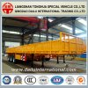 Straight Beam Vertical Corrugated Sidewall Semi Trailer