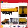 2 Axles Tipper Semi Truck Trailer with Air Suspension