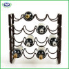 Metal Art Eurpean Style Wine Storage Rack