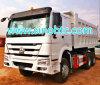 6X4 LHD Diesel Engine Zz3257 Dump Truck
