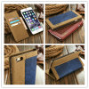 2016 Hot-Selling Jean+Canvas Leather Mobile Phone Case/Cover for iPhone 6/6s