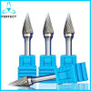 Arc Pointed Nose G Shape Carbide Rotary Burrs