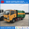 HOWO Small 5m3 Compactor Garbage Truck 4 Tons Garbage Truck
