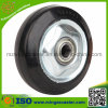 Elastic Rubber on Steel Rim Wheel for Casters