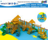 Wooden Playsets Fitness Equipment Outdoor Playground Hf-17201