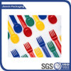 Disposable Kitchenware Plastic Fork for Cake Fruit Tableware