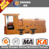 Zhong Kemining Use Diesel Locomotive