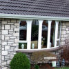 European Style UPVC Round Windows