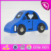 Hot Product for 2015 Mini Toy Car for Kids, Intelligent DIY Woodenl Car Toy for Children, High Quality Wooden Toy Car Toy W04A086