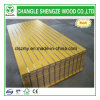 Yellow Color Melamine Faced Slot MDF