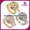 Czech Diamond Gemstone Jewelry Ring Crystal Rings (SR201)