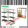 MDF Clothes Rack for Supermarket