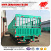 3 Axles 40FT Sugarcane Loading Cargo Fence Semi Trailer