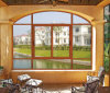 Arched Aluminum Sliding Glass Window with Double Glass (JBD-S6)