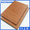 Natural Wood Color Aluminum Composite Panels (ACP/ACM) for Eco-Friendly Building