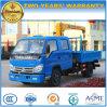 Crew Cab Forland 2 T Hydraulic Truck Crane 6 Wheels Crane Truck