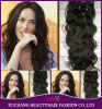 Europe Remy Hair Full Head Cheap Hair Extension Clip in Hair Extensions Ombre Kinky Curly Clip in/on Hair Extension