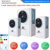 Evi Tech. -25c Winter 100~320sq Meter House Floor Heating 12kw/19kw/35kw Auto-Defrost High Cop Split Heat Pump Systems